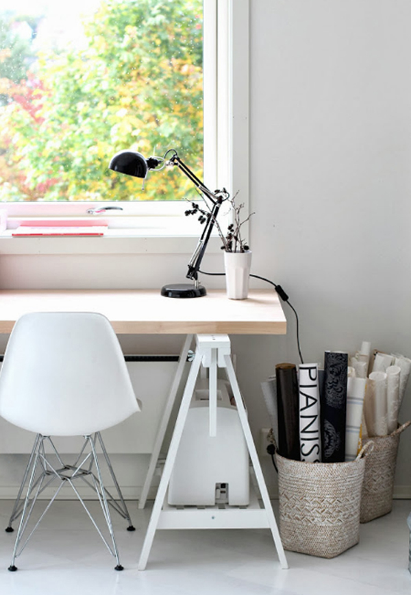 Ordinaire Home Office Design By IKEA, They Make Very Cutest With An Adorable White  Color Options. Letu0027s See What My Interest From This Home Office!