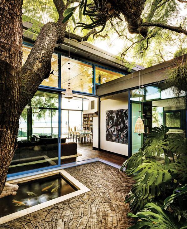 indoor courtyard pool ideas HomeMydesign