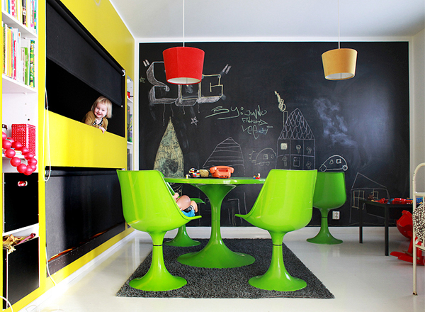 Hereu0027s An Awesome Idea Chalkboard Child That You Can Make A Solution And  Enhance Childrenu0027s Room!