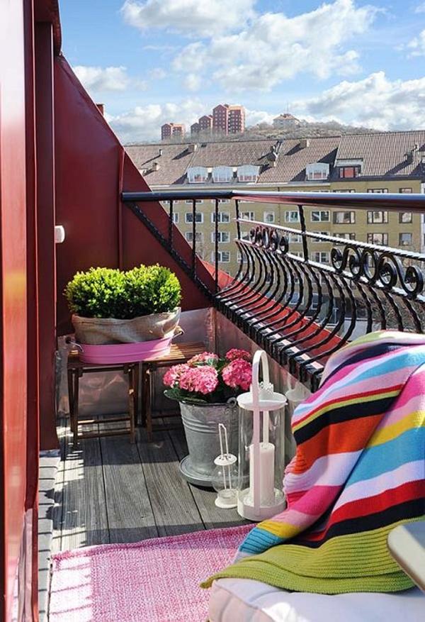 Open Space Boho Chic Balcony