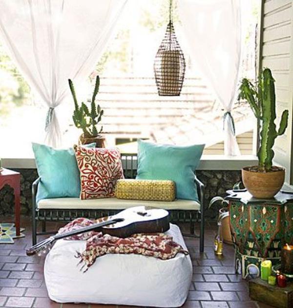 Home Decor Ideas For Balcony: 30 Beautifully Boho Chic Balcony Ideas