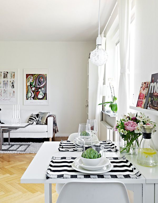 Small apartment dining area for Small dining area solutions