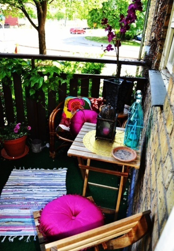 30 Beautifully Boho Chic Balcony Ideas Home Design And