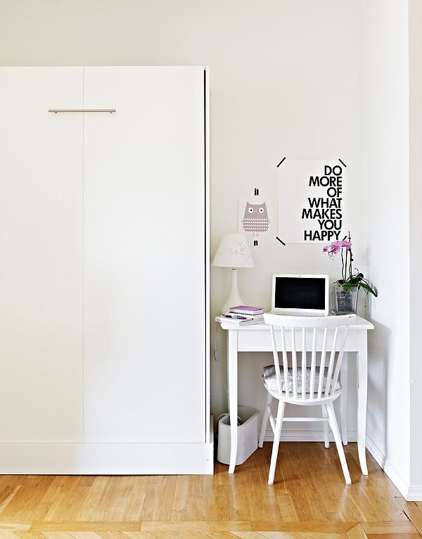 Beautiful Small Apartment Only 36 Square Meters Homemydesign