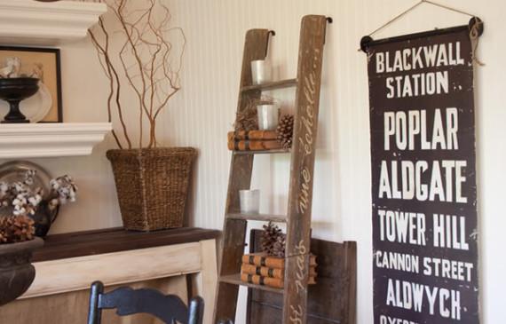 vintage-ladder-dining-storage-ideas
