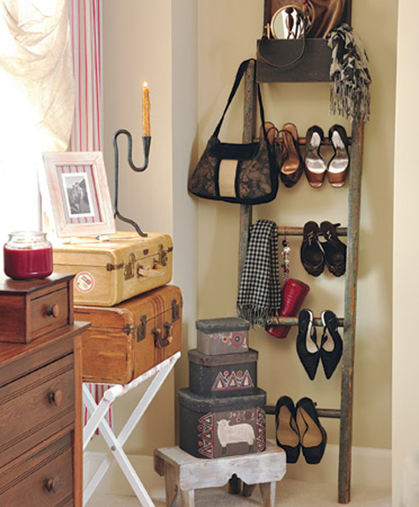 Vintage Ladder Rack Shoe Storage Home Decorators Catalog Best Ideas of Home Decor and Design [homedecoratorscatalog.us]