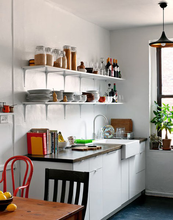White small kitchen ideas for Small white kitchen ideas