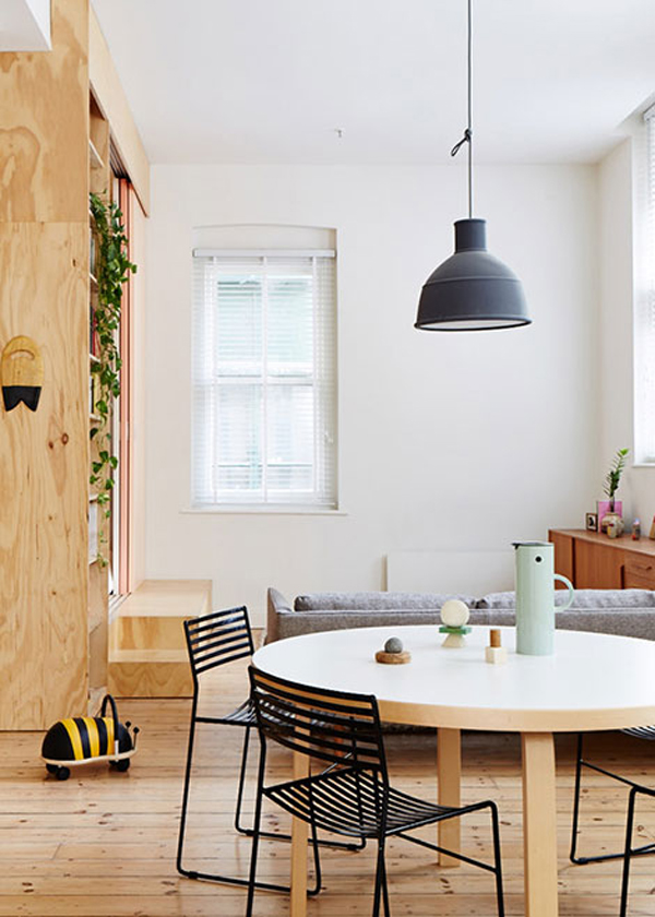 gallery of small apartment with full wood in melbourne