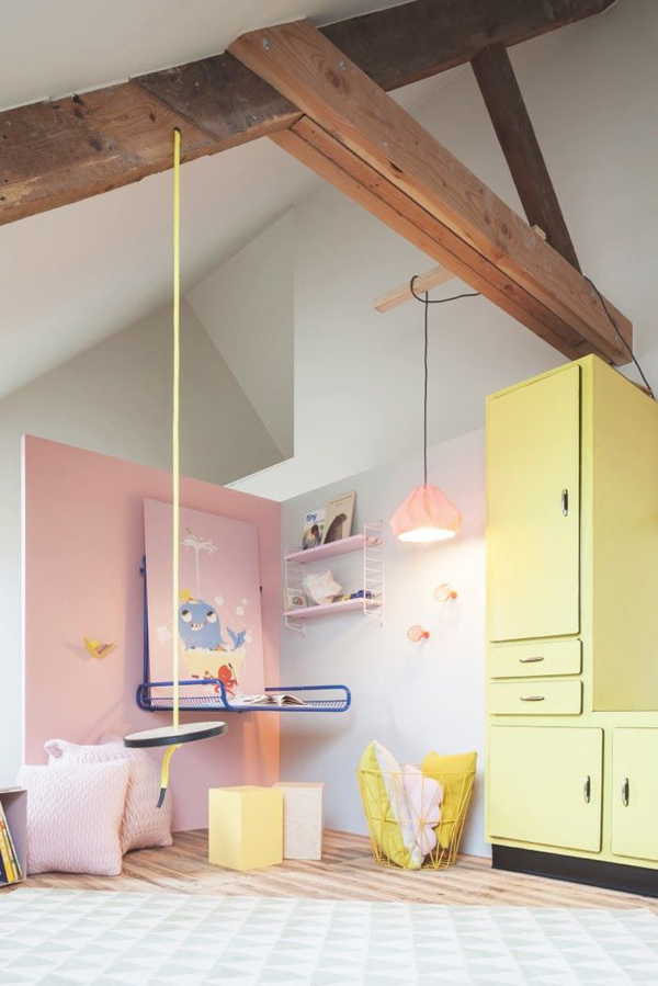 20 adorable kids room with pastel color ideas home design and interior - Colors for kids room ...