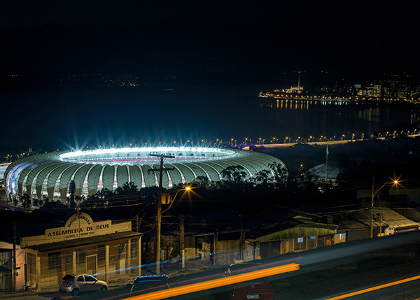 Beira Rio Stadium At Night Photo