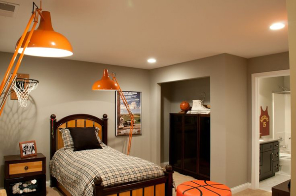 Boys Bedroom Basketball Theme