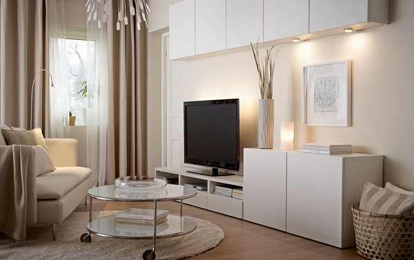 25 stylish ikea tv and media furniture home design and interior - Mobili salone ikea ...