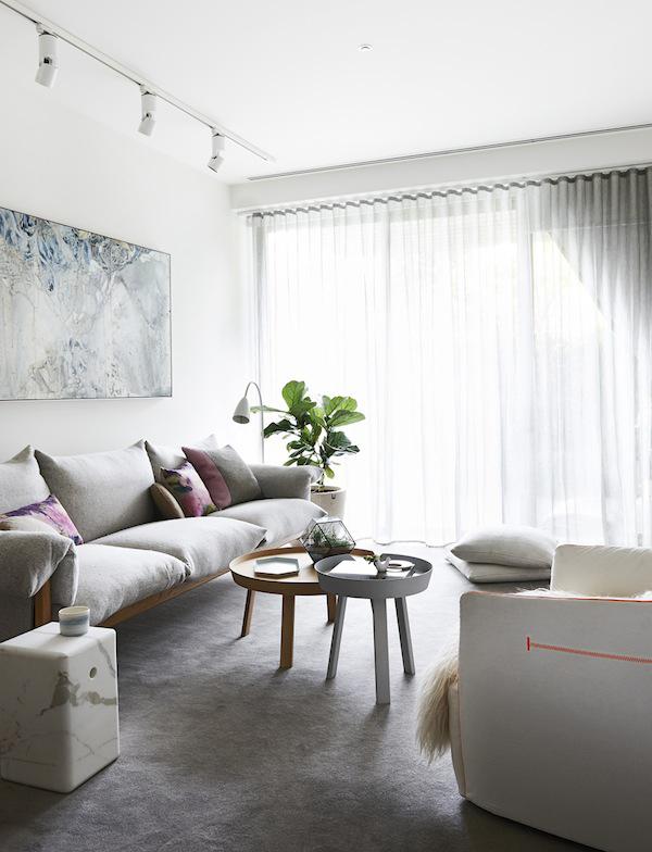 Contemporary Melbourne Living Room Design