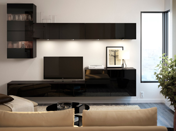contempory ikea tv stand furniture. Black Bedroom Furniture Sets. Home Design Ideas