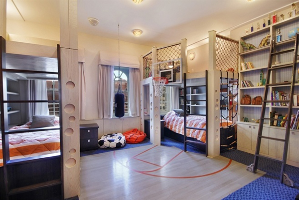 Sporty Teenage Girl Bedroom Ideas 20 sporty bedroom ideas with basketball theme | home design and interior