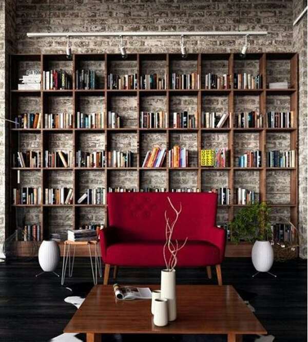 Cool Home Library Rack