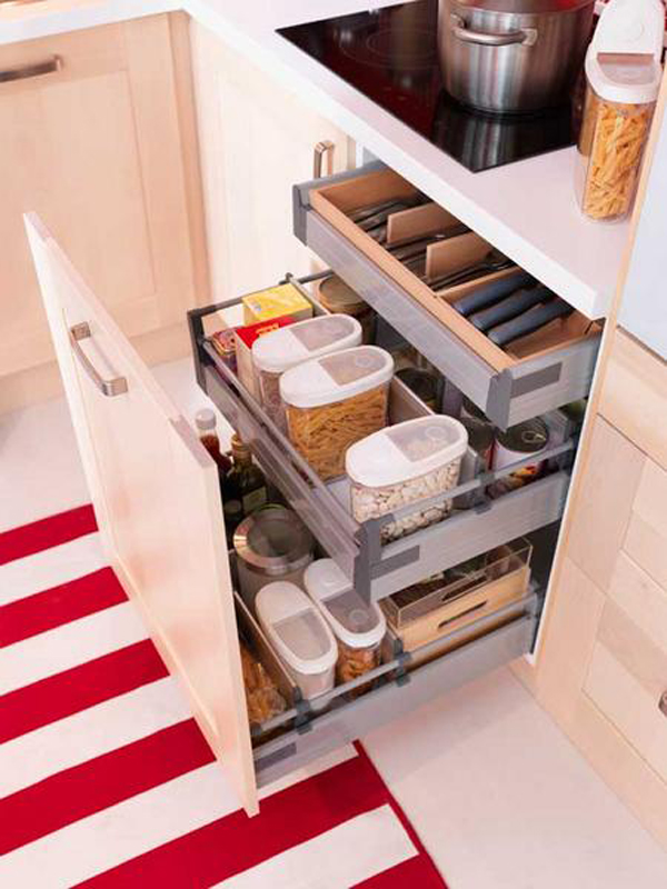 Small Kitchen Drawer Ideas