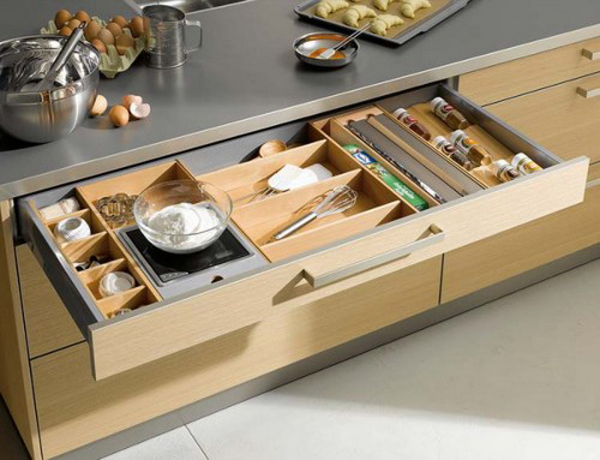 35 functional kitchen cabinet with drawer storage ideas Organizing kitchen cabinets and drawers