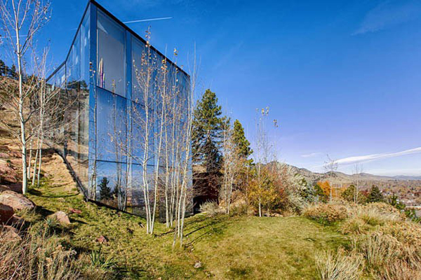 glass house with 360 degree view of the mountain - Home Design Degree