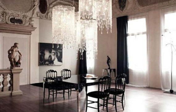 gothic-dining-room-lighting