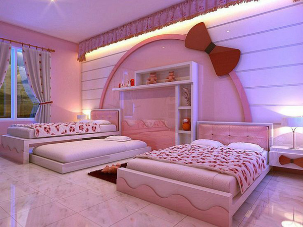 Hello Kitty Bedroom For Teen Girls