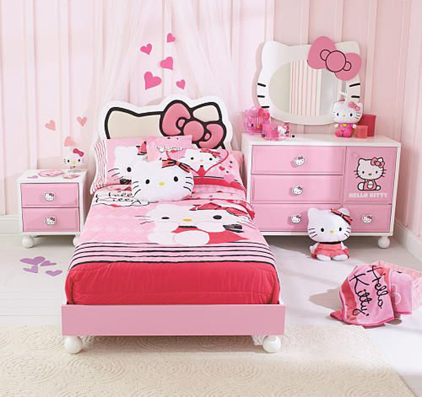hello kitty bedroom furniture 25 hello kitty bedroom theme designs home design and 15539