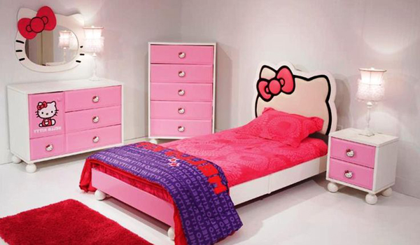 25 Hello Kitty Bedroom Theme Designs Home Design And