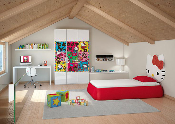 gallery of 25 hello kitty bedroom theme designs