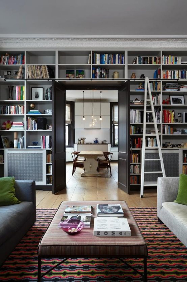 Home library and reading book ideas for Home design ideas book