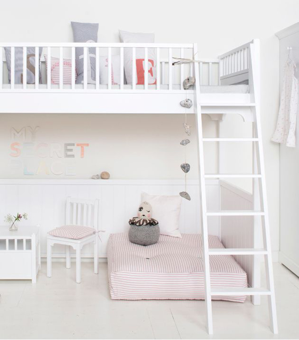 Pastel Colors Kids Room: Kids-pastel-bunk-beds
