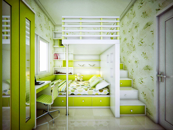 Bedroom Ideas Nature 20 inspiring fresh green room designs | home design and interior