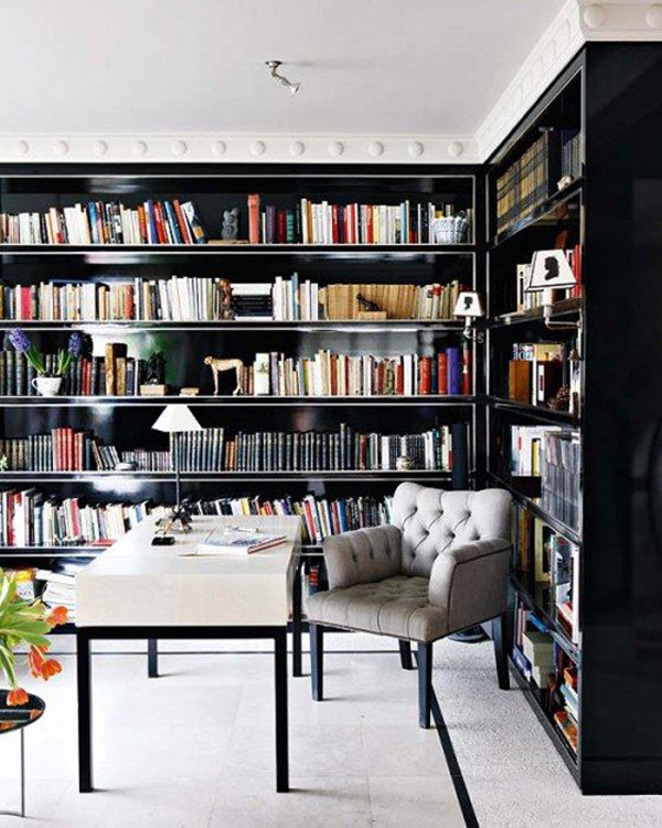 Minimalist-home-library-ideas