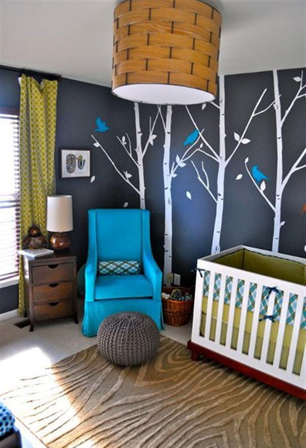 Minimalist Nursery Room Wallpaper