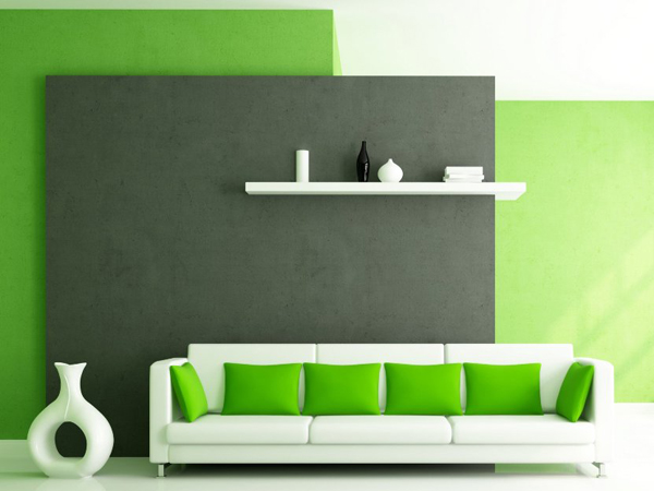 Nice You Can Combine Green With Black To Create Dramatically Effect, With White,  Yellow Or Even Orange To A Sharp Concept. Check The Green Room Designs  Below And ... Images