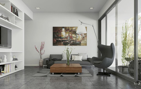 modern-hidden-tv-open-space