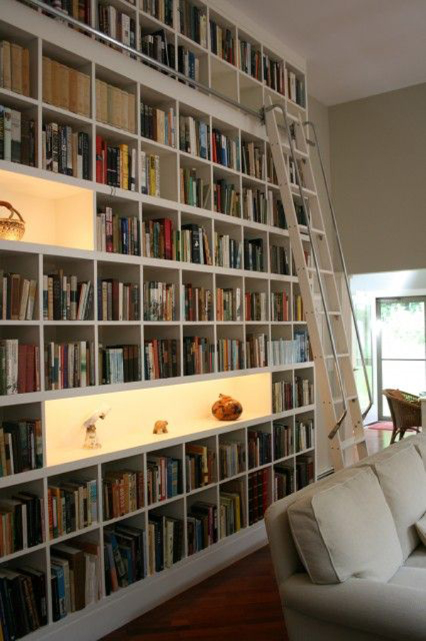 35 coolest home library and book storage ideas home design and interior - Books on home design ...