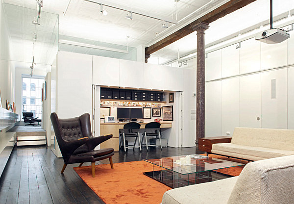 Modern Home Office Loft