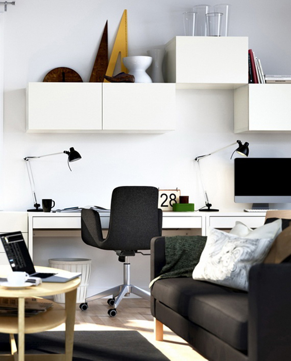 20 Of The Best Modern Home Office Ideas: 20 Modern Home Office For Small Space Ideas