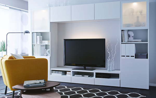 Modern ikea tv and media furniture - Ikea mueble salon tv ...