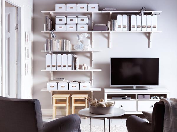 Modern ikea tv furniture designs for Ikea tv furniture ideas