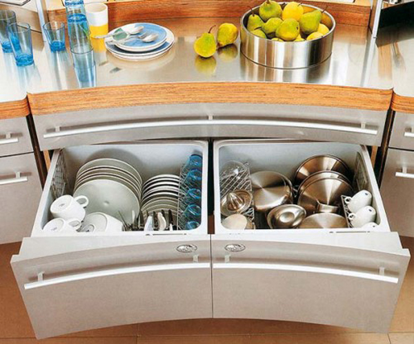 Modern Kitchen Drawer Pulls