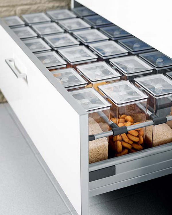 Modern Kitchen Drawer Space Cabinet