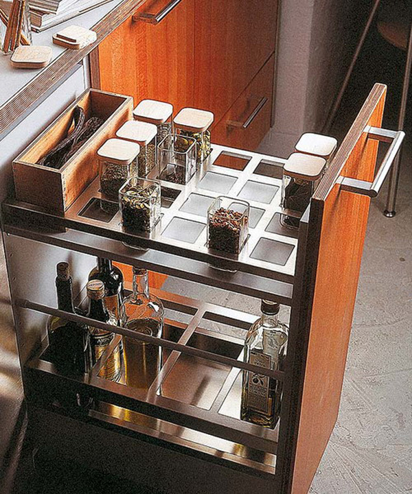 Modern Kitchen Drink Drawer Designs