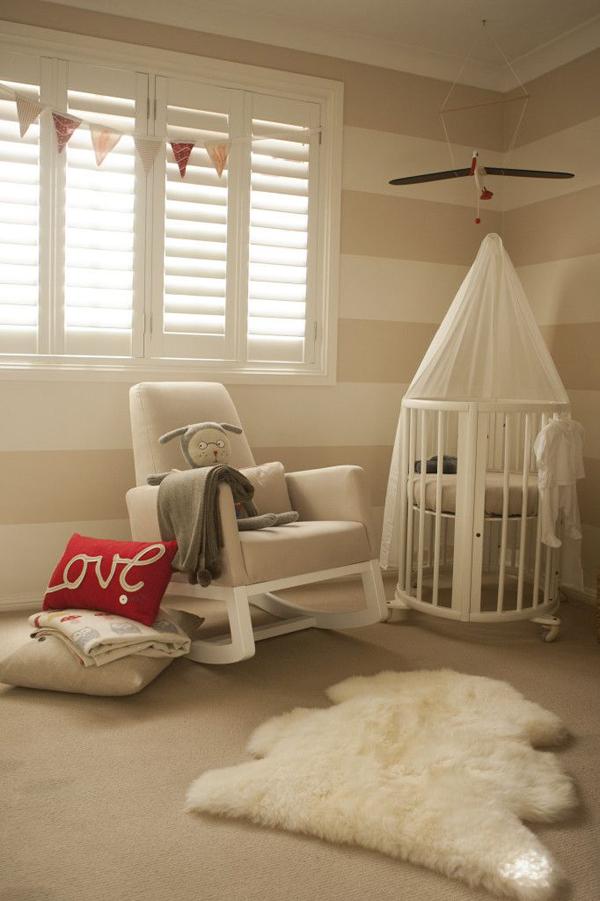 Neutral Nursery Themes Ideas: Neutral-warm-nursery-room-ideas