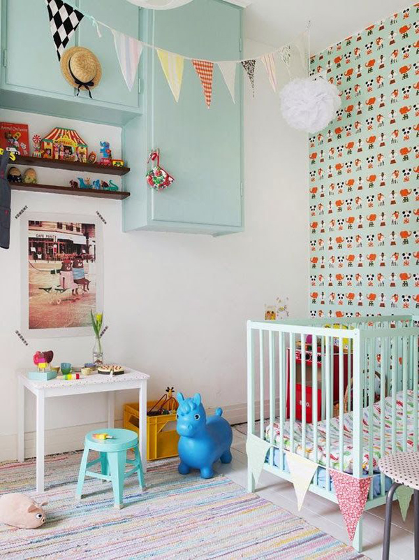Pastel Children Room Design