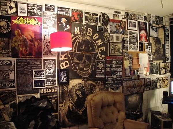 20 punk rock bedroom ideas home design and interior