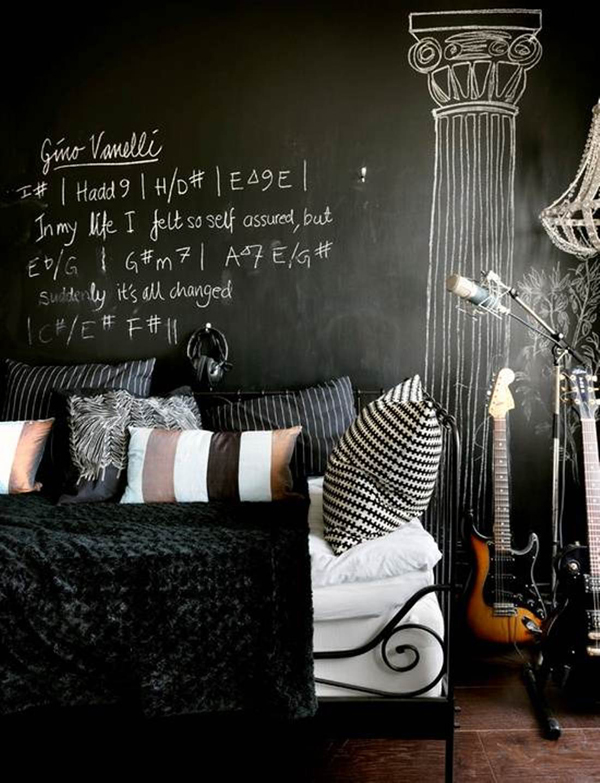 punk music bedroom ideas