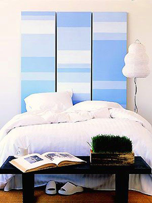 Romantic Blue Headboard Ideas