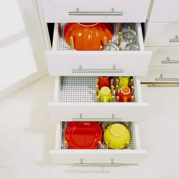 35 Functional Kitchen Cabinet With Drawer Storage Ideas