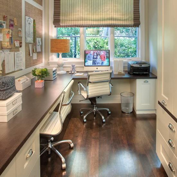 Small home office open space for Small room office